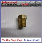 LMA Quality Fuel Oil Air 1/8 NPT Brass Blanking plug